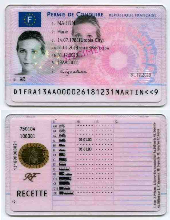 How much does a french drivers license cost ? | Buy Fake French ID cards