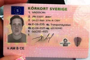 how to get Swedish driving license