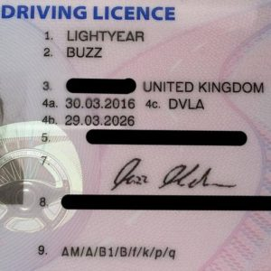 How much cost uk driving license