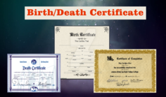 Get Your Fakereal Birth Certificates Online Buy Novelty Death