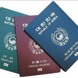 how to get south korean passports